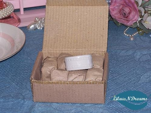 White Glazed Napkin Rings Holders Set of 8